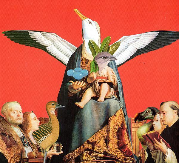 Ingrid Bittar - Untitled, collage/paper