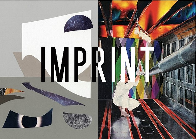 Imprint Collage exhibition