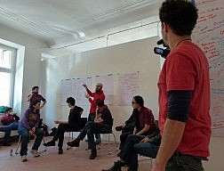 Center for Creative Activism course at SomoS Art House