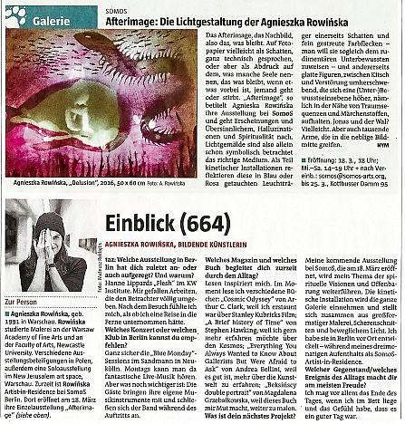 Agnieszka Rowińska taz review
