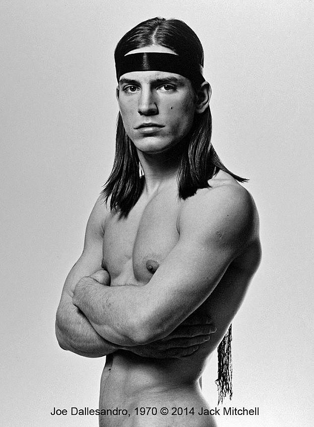 Jack Mitchell: Joe Dallesandro, Photograph, Trash Publicity Shot 1970
