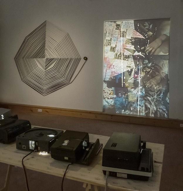 Marguerite Harris installation at SomoS 2016