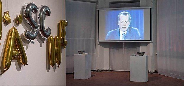 Geldwaesche presentation at SomoS.