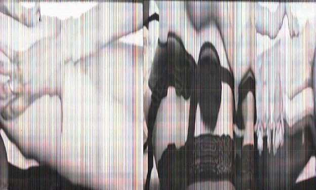 Erotic film manipulated by live scanning
